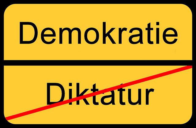 Demokratie und was sie mir bedeutet